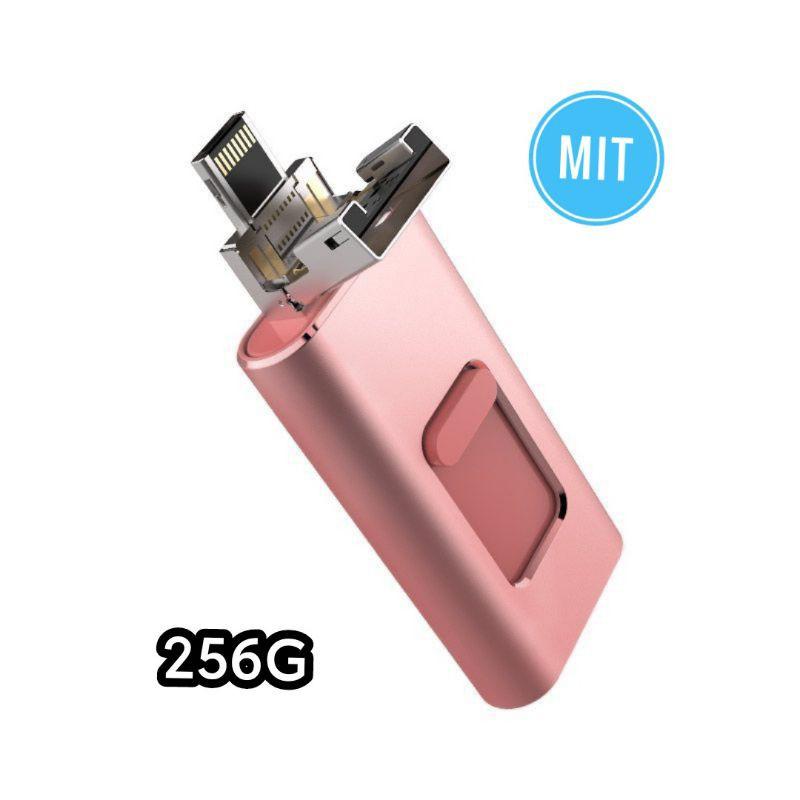 蘋果隨身碟 商城認證 真實容量 15天鑑賞試用 5合1 MIT認證 蘋果安卓電腦typec otg隨身碟 USB