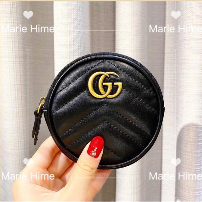 《現貨》實體門市-Gucci 馬夢 Marmont零錢包 鑰匙包 熱門款零錢包 經典零錢包 圓形零錢包 相機包disco