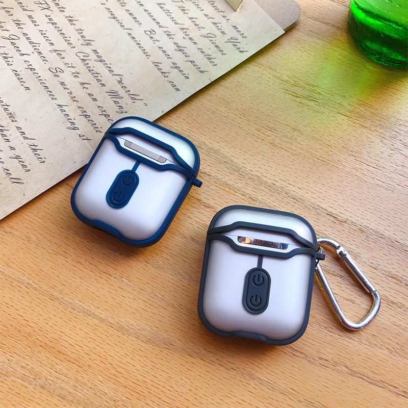 Apple Airpods Pro 1 2 3 Pro Airpod 磨砂透明保護套外殼