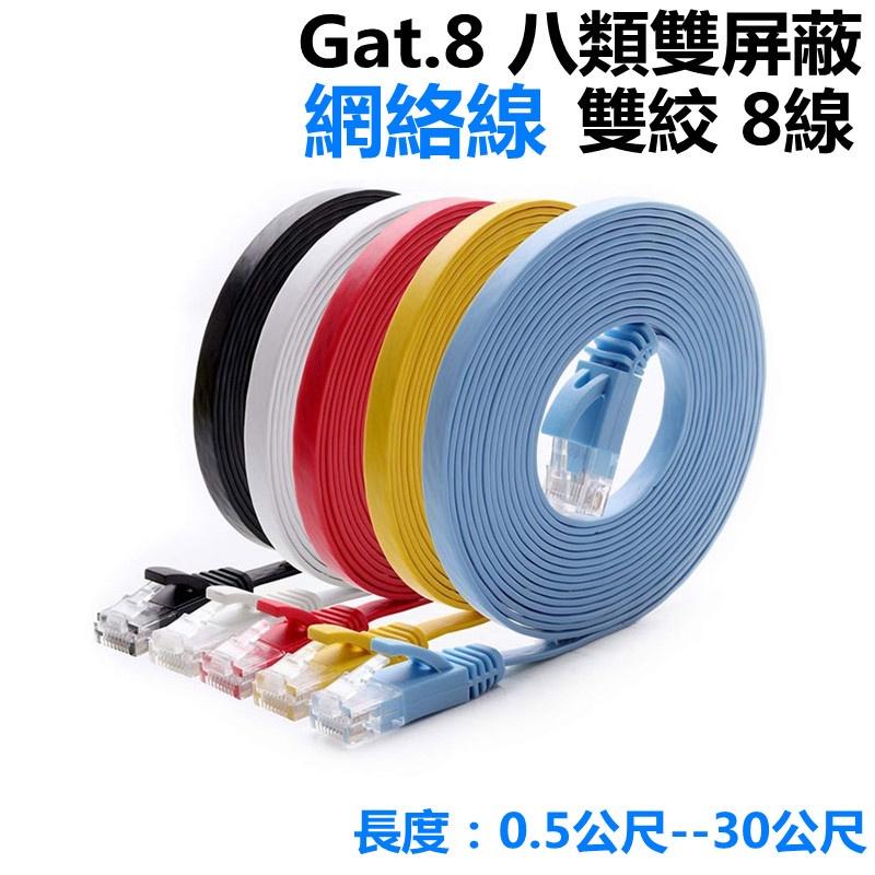 皮皮家 cat6光纖 超扁線 寬帶線 cat6 網線 RJ45網路線 20米 10米 高速網路線 cat6a