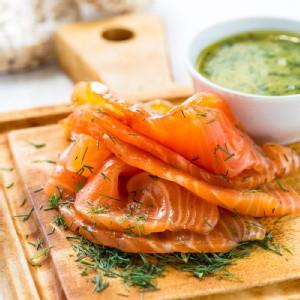北歐煙燻鮭魚 (200g±10%/包)