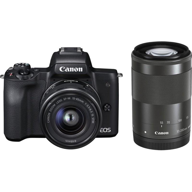 Canon EOS M50(黑)機身+鏡頭(可小議)