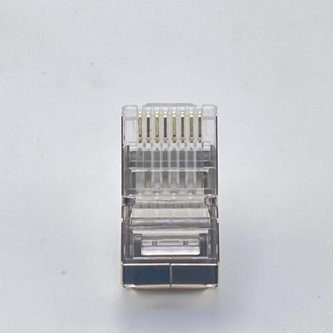 網路水晶頭//CAT6/CAT6A/一件式/鍍金無氧銅加厚銅片/1顆