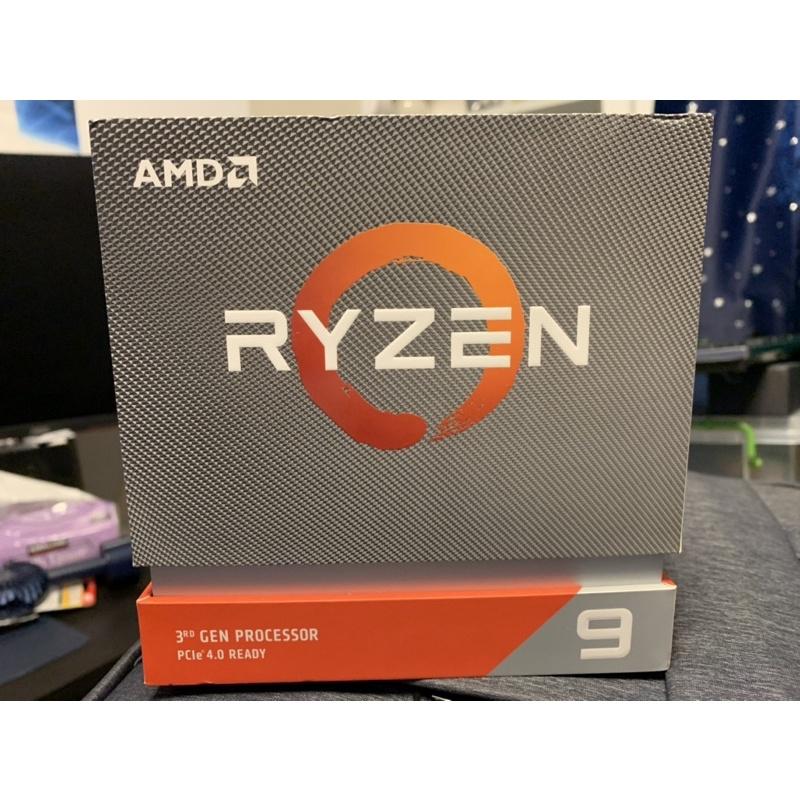 AMD Ryzen R9 3900x 處理器Cpu 12核 24執行緒