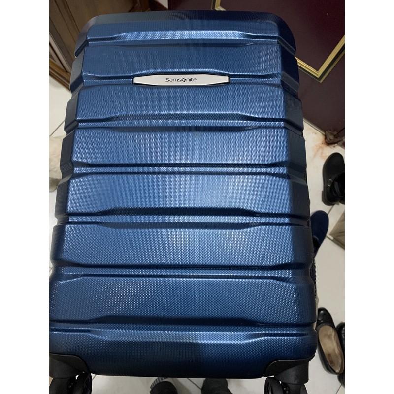 "好市多~Samsonite Luggage Set 硬殼行李箱 27""+20"""