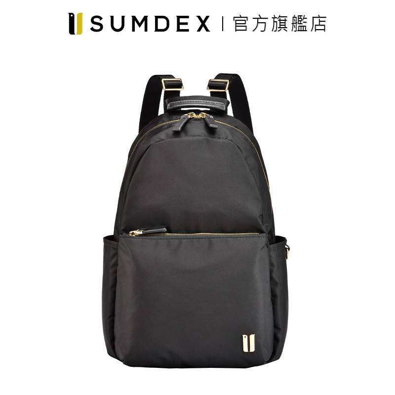 Sumdex|輕巧隨行後背包 NOD-770BK 黑色 官方旗艦店