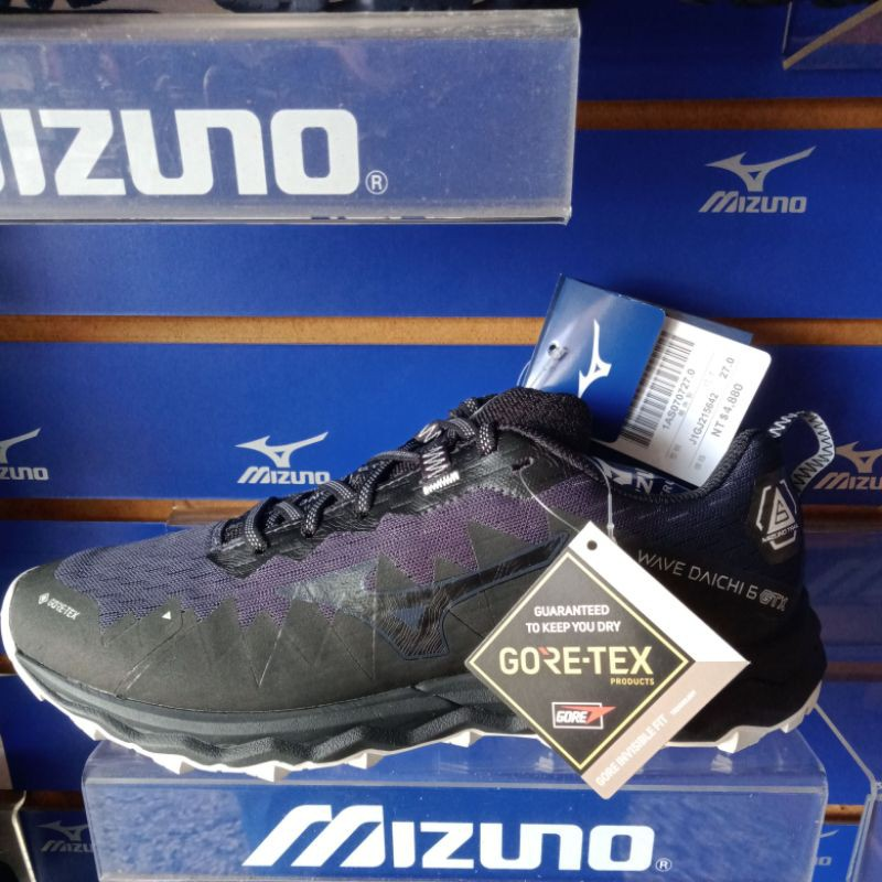 Mizuno 美津濃 2021 WAVE DAICHI 6 男款防水 G-TX 戶外鞋 防水 慢跑鞋 特價3480元