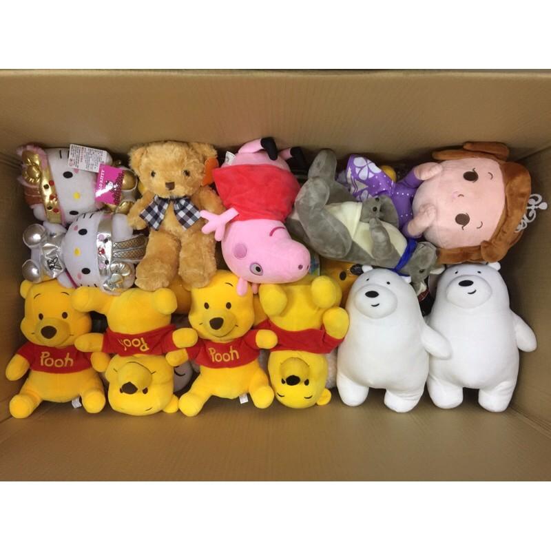 🌟ITA娃娃機商品共12件🌟可愛絨毛娃娃約8-10吋現貨低價批發