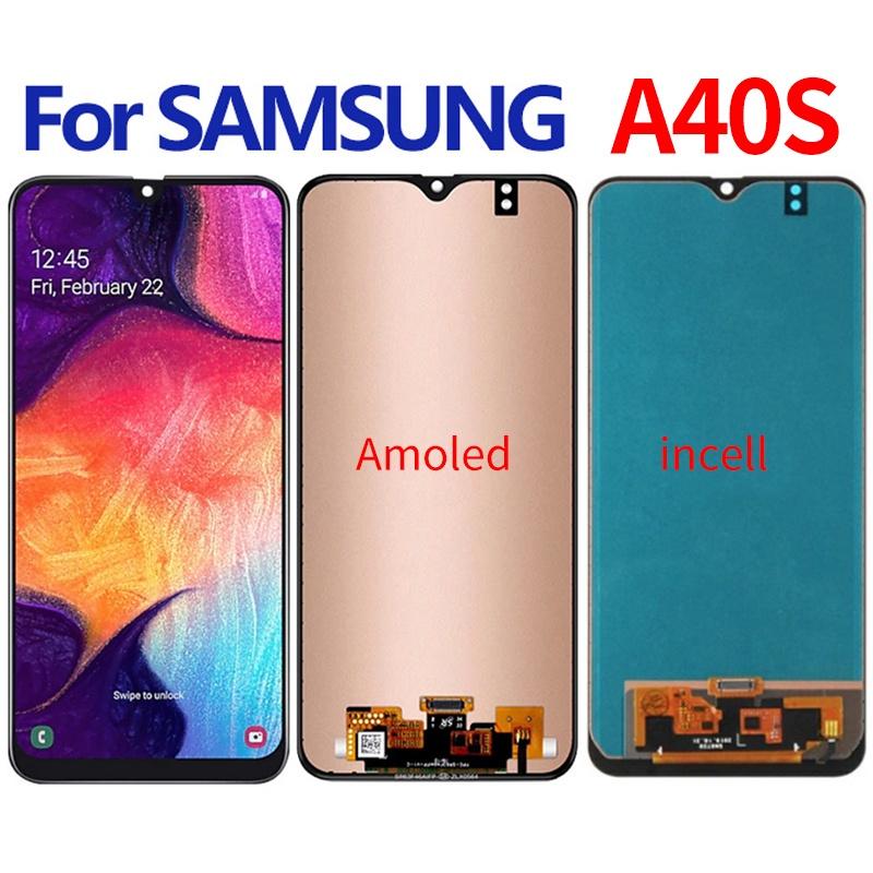 Z適用於三星Samsung Galaxy A40s A3050 螢幕總成 面板總成 觸控顯示內外屏一體