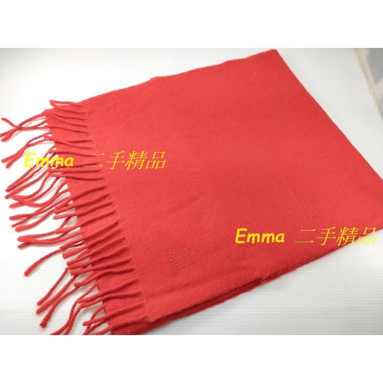 LANVIN 蘇格蘭製造 純羊絨(Cashmere)  圍巾