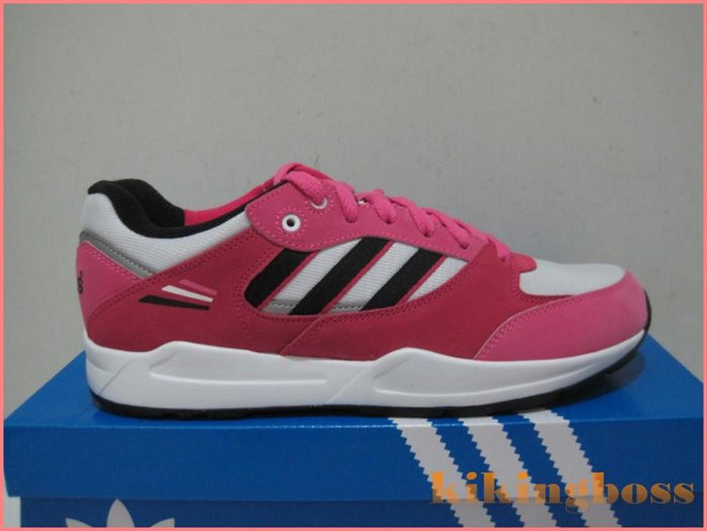 ADIDAS TECH SUPER K 女大童 慢跑鞋/跳舞鞋 桃紅 5折超特價1395元 M17965...