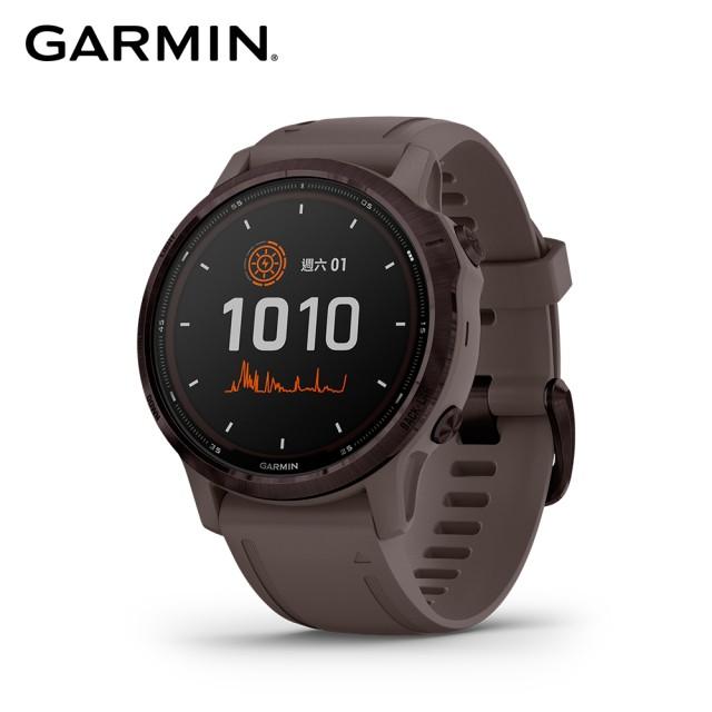 GARMIN Fenix 6S Pro 進階太陽能複合式運動GPS腕錶【數位王】