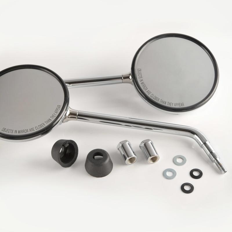 VESPA偉士牌 長版 電鍍後照鏡後視鏡 LX/LT/LXV/Liberty