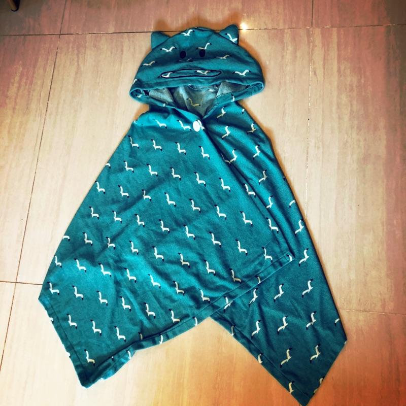Craftholic 日本正品 毛巾布披肩 浴巾 二手 成人尺寸