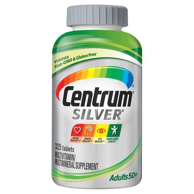 銀寶善存 Centrum Silver 50+      325粒  保存期限 : 2022/03