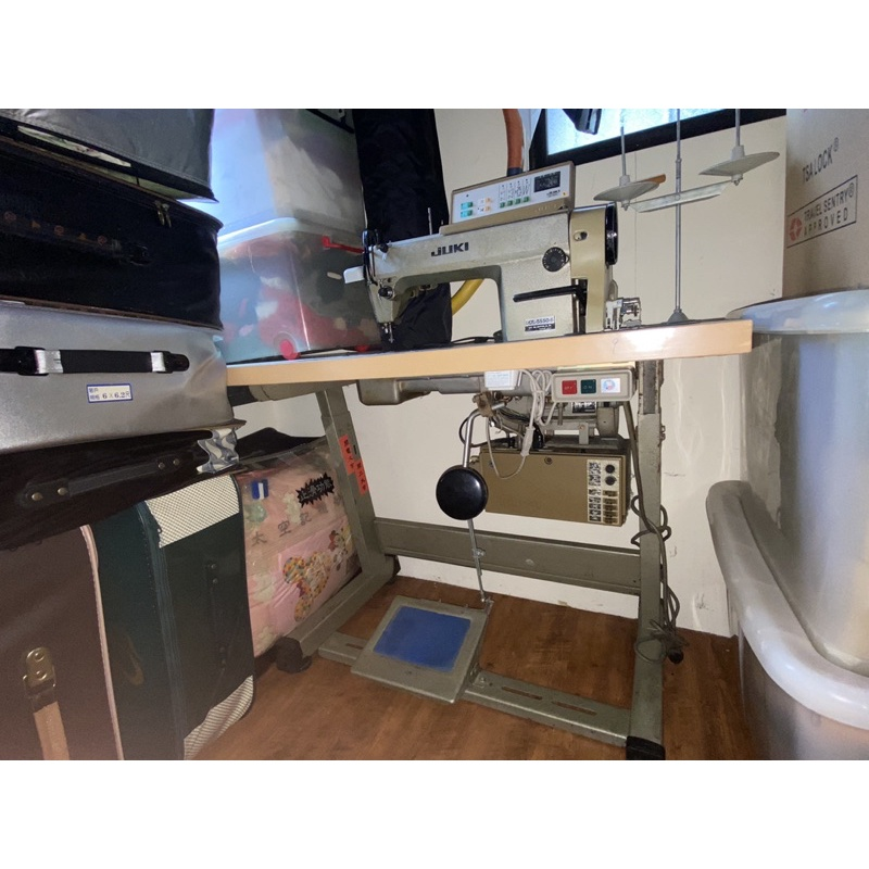 二手JUKI工業用平車 裁縫車 型號DDL-5550-6/SC 220 日本製 220V
