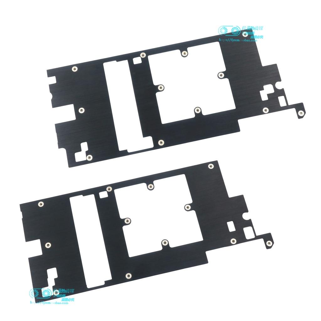 #礦機扇熱#公版GTX1070/1070Ti/1080/1080Ti/TITANX顯卡顯存供電MOS管散熱板