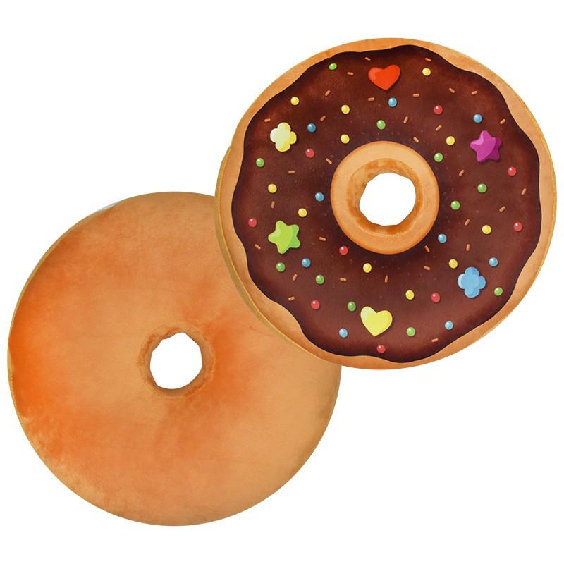 MUSE木棉花 甜甜圈造型抱枕-木棉花自製A款