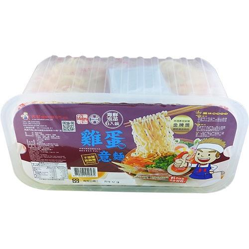 吉好 意麵 360g/6入盒裝(海鮮泡菜 雞蛋意麵)[大買家]