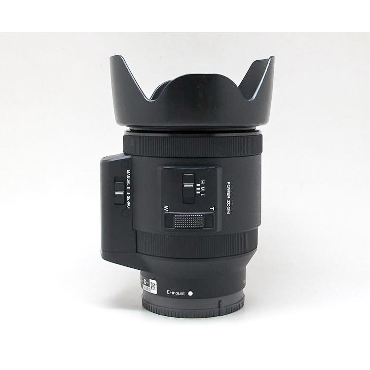 熱銷@新品下殺@索尼電動鏡頭 E PZ 18-200 OSS 18-200mm 遮光罩 專用卡口 可反扣