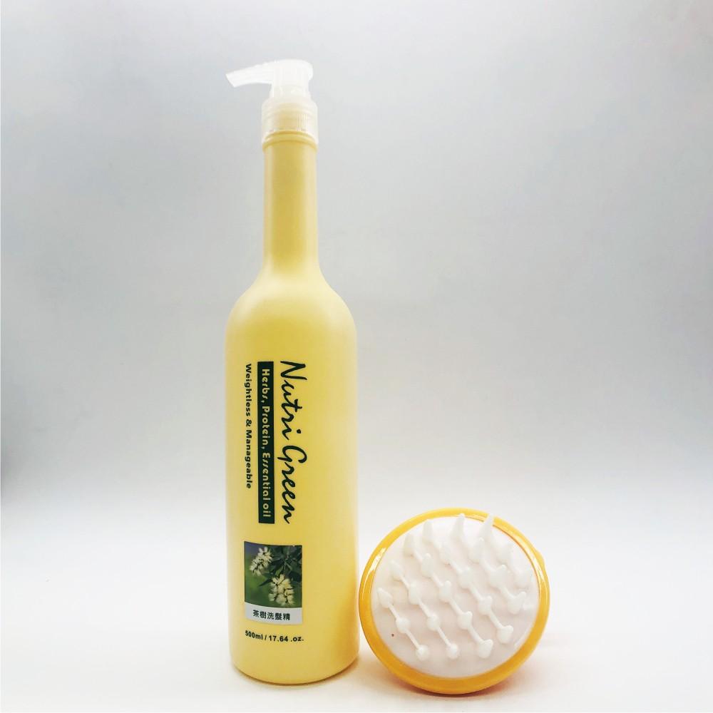 【Nutrigreen】碧茵 頭皮專育毛梳+頭皮屑/頭皮癢適用柑橘洗髮精