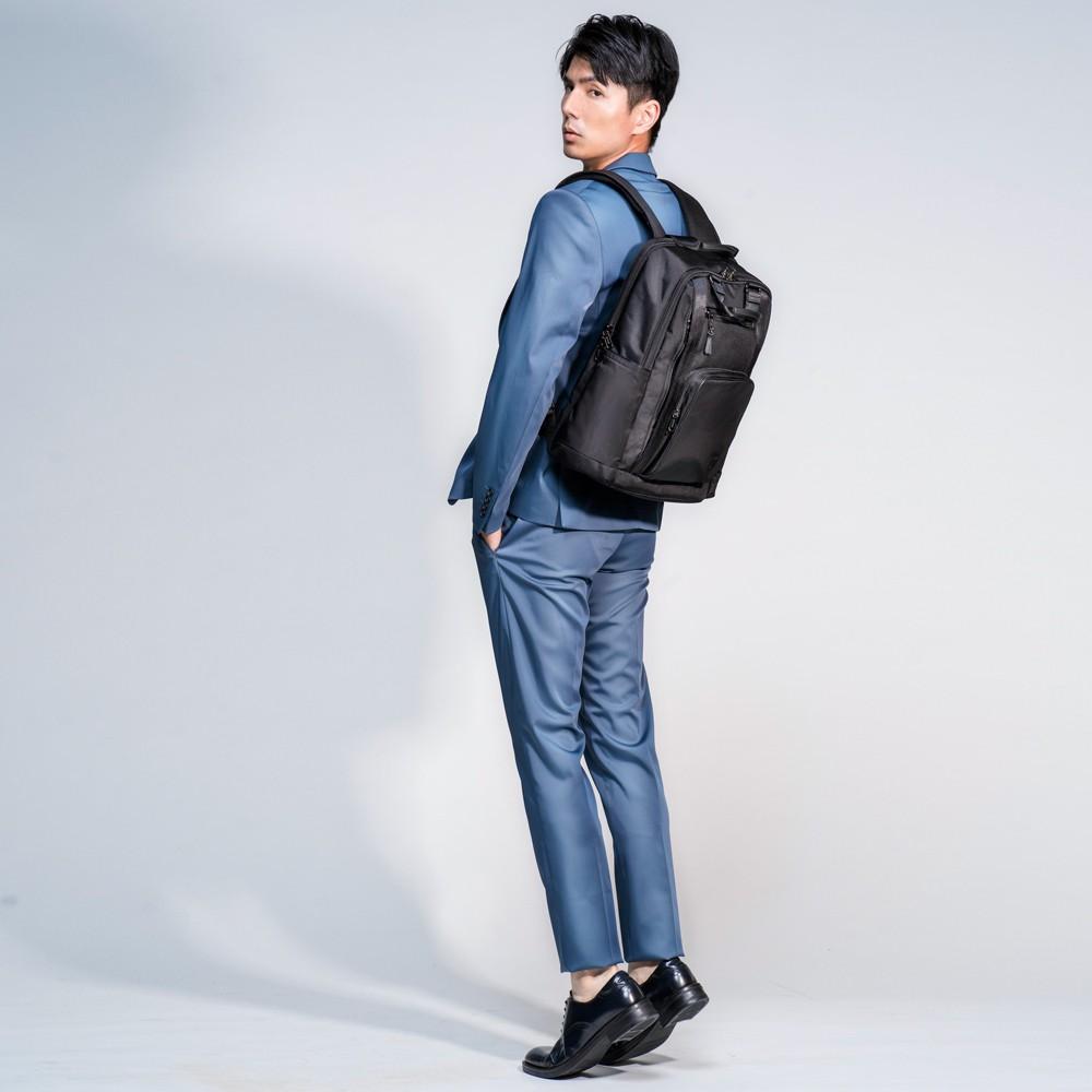 ☆SUMDEX☆人體工學設計 高級後背包 網路最低價 經典 雙用 商務 後背包 時尚 平板包 筆電包 262JB 黑色