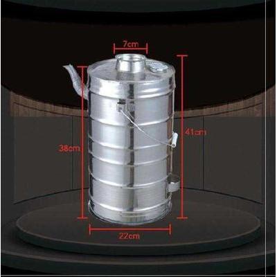 燒木柴火燒水壺燒火。保暖燒柴燒開水柴火爐取暖爐煮水器爐子炭燒現貨21007