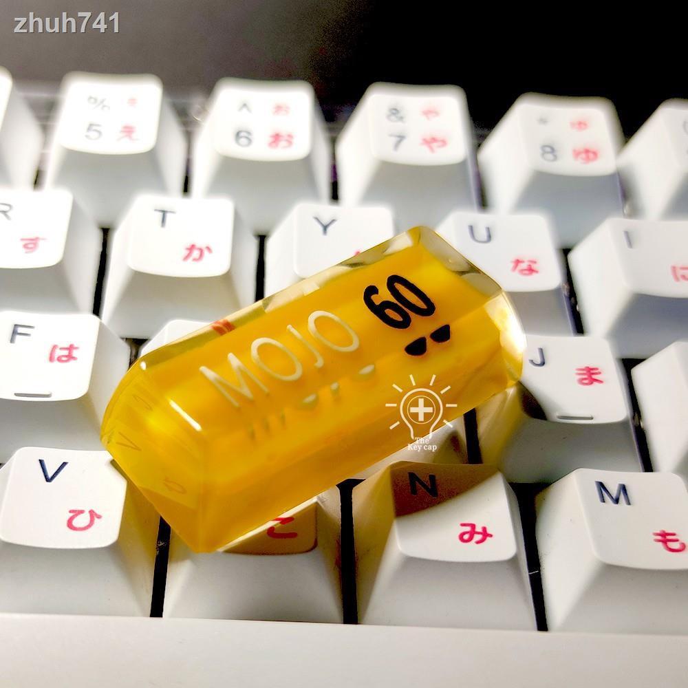 ✨鍵帽 定制機械鍵盤MOJO60個性增補回車鍵帽樹脂個性透光客制化SA櫻桃 鍵帽鍵盤 鍵盤鍵帽 機械鍵盤 樹脂