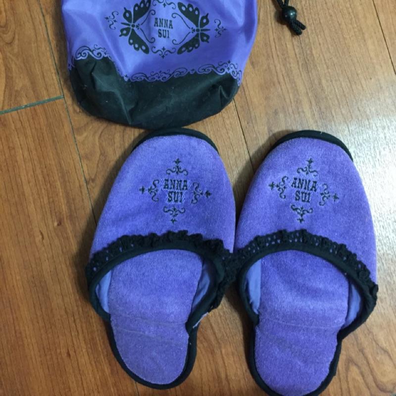 ANNA SUI 室內拖鞋