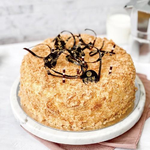 【薔薇派】天使蛋糕  8吋〈冷凍宅配〉
