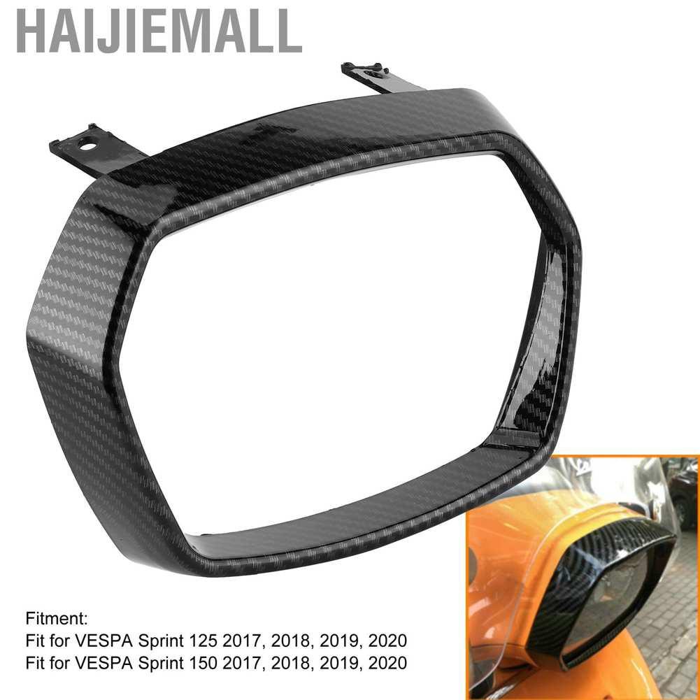 Haijiemall Abs 大燈保護蓋擋板保護適合 Vespa Sprint 125 / 150 2017-2020