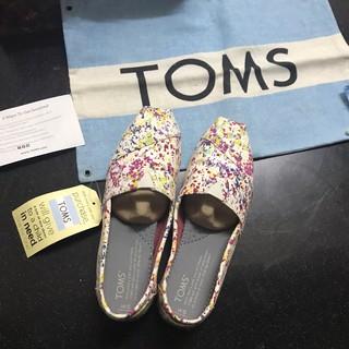 TOMS彩繪風懶人鞋-女款 雲林縣