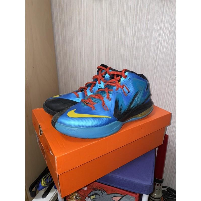 NIKE LEBRON AMBASSADOR VI 馬年特別款 籃球鞋 藍黑色 Size 11 8.5成新