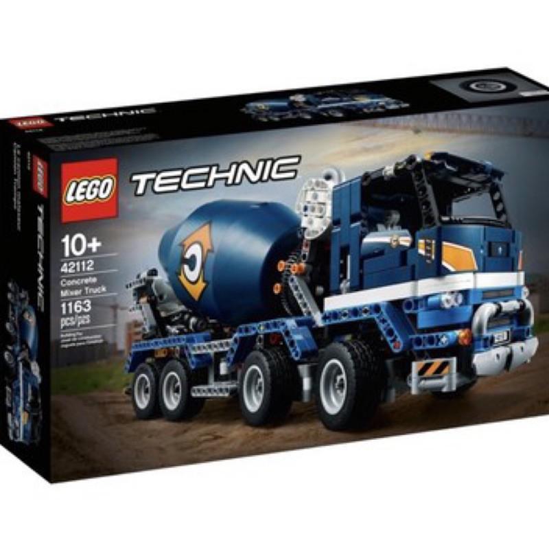 LEGO 42112 動力科技系列 水泥攪拌車 全新未拆