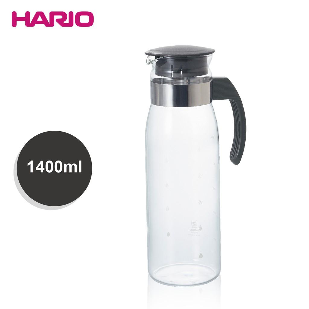 日本 HARIO耐熱冷水壺-黑灰 1400ml (RPLN-14CGR)