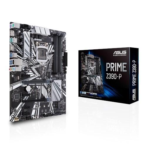 華碩 ASUS PRIME-Z390-P 主機板 主機板含 OptiMem II 原廠保固 全新未拆