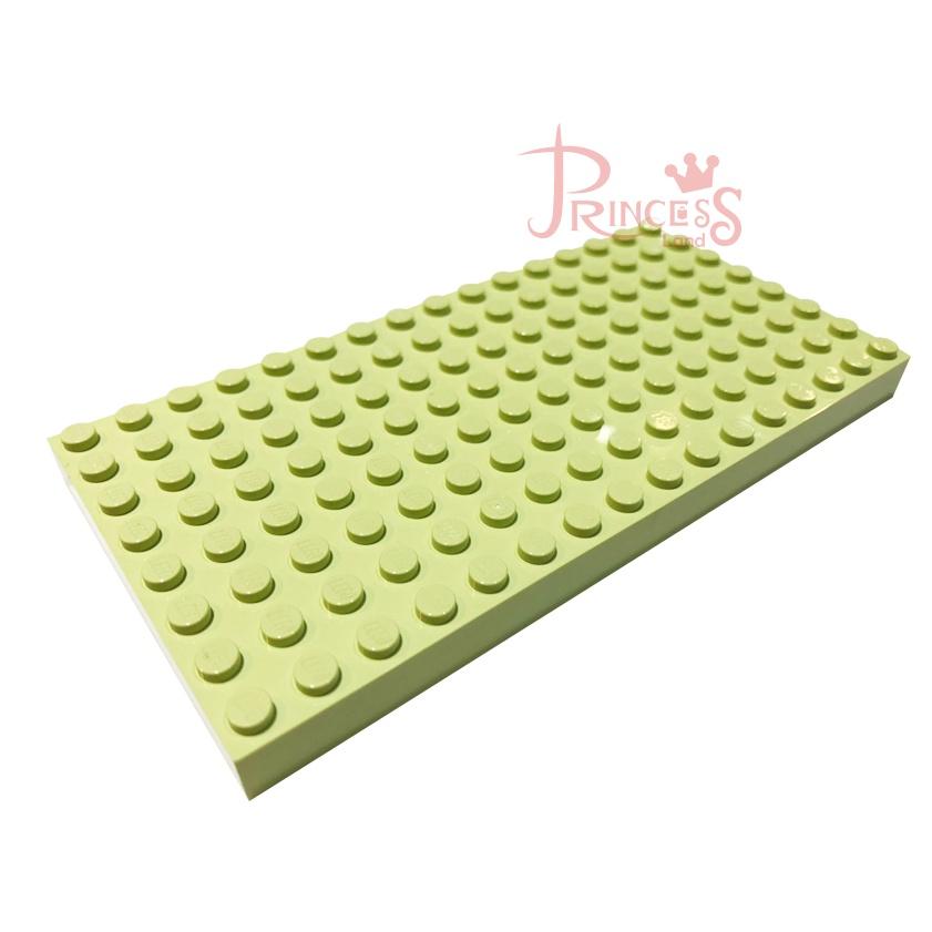 公主樂糕殿 LEGO 樂高 絕版 4204 4243923 8X16 底板 基板磚 亮萊姆綠 M022