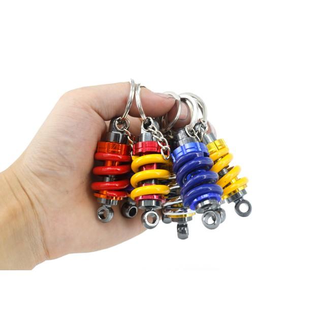 ✌苓一百貨舖✌ 避震器鑰匙扣環  鑰匙圈 鑰匙環 避震器 鑰匙圈 汽車 避震 吊飾 汽車鑰匙圈 金屬