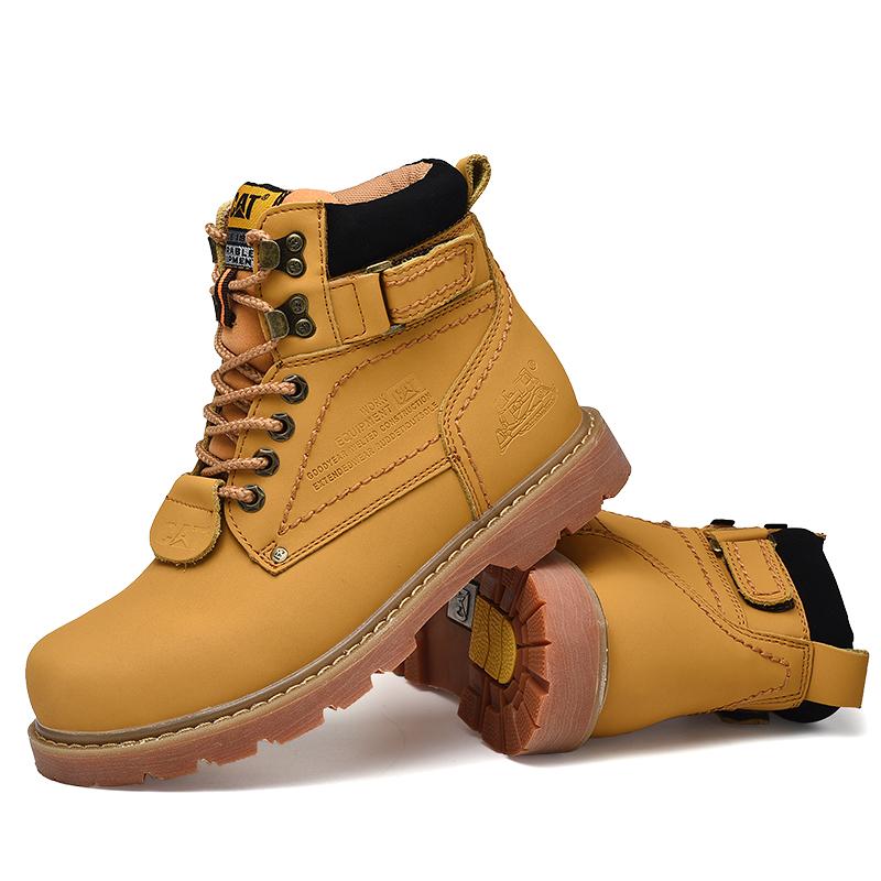 【台灣出貨】cat 馬丁鞋 馬丁靴 踢不爛小黃靴 短靴 情侶款 女鞋 防水防滑 男鞋 靴子