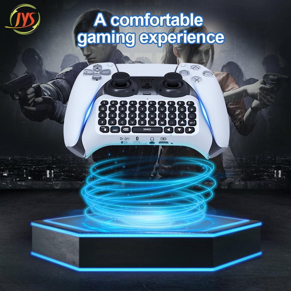 【台灣速發】PS5手柄藍牙無線鍵盤PS5藍牙外接鍵盤PS5手柄可聊天語音藍牙鍵盤