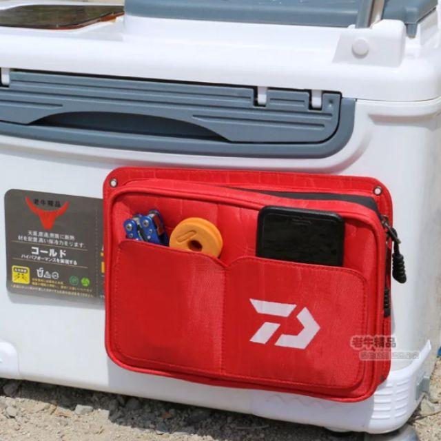 【紅不浪】Daiwa 達瓦釣箱側包 冰箱背包