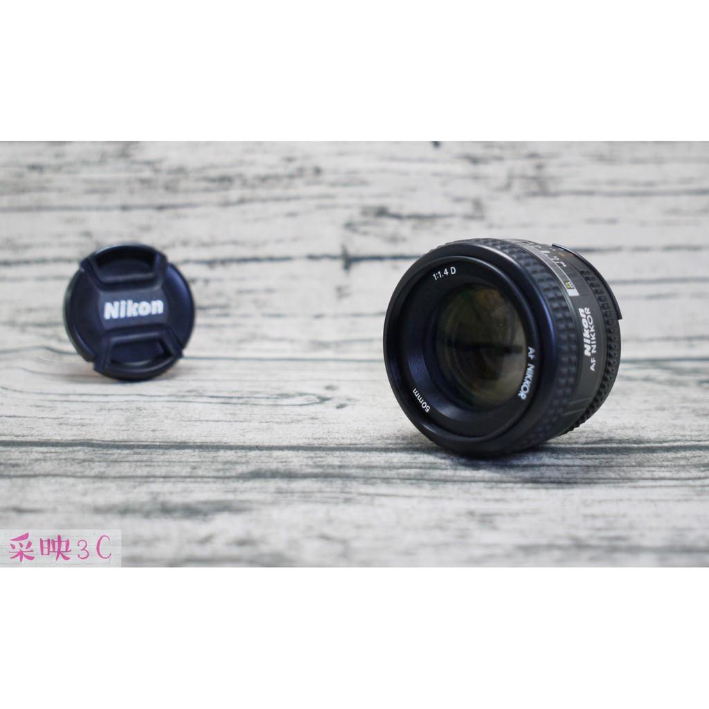 Nikon 50mm F1.4D 定焦鏡 人像鏡 D9219