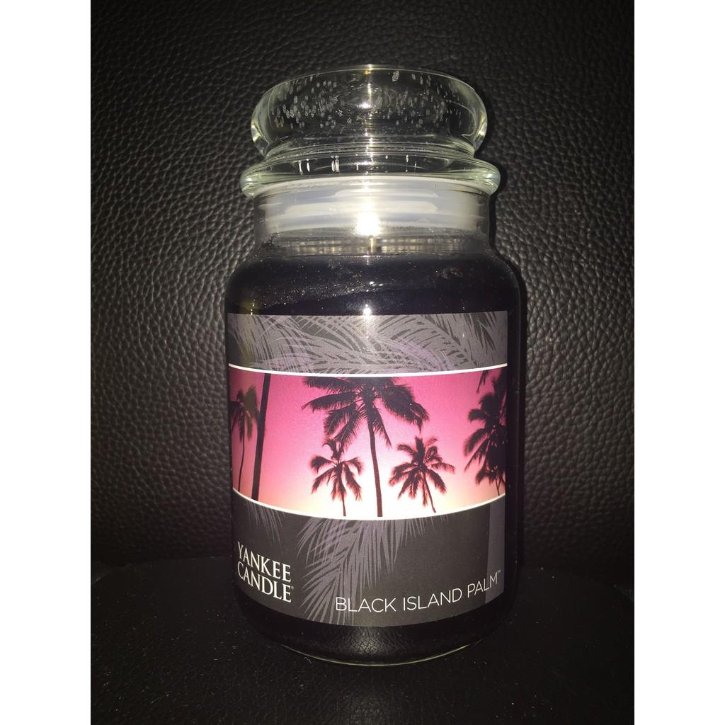 Yankee Candle XYCE005T 蠟燭 black island palm
