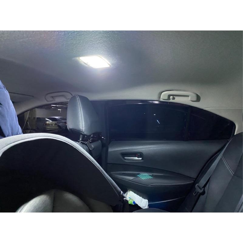 12代altis led燈光改裝 牌照燈 後車廂燈 室內燈 迎賓燈 DIY  豐田toyota t10 led