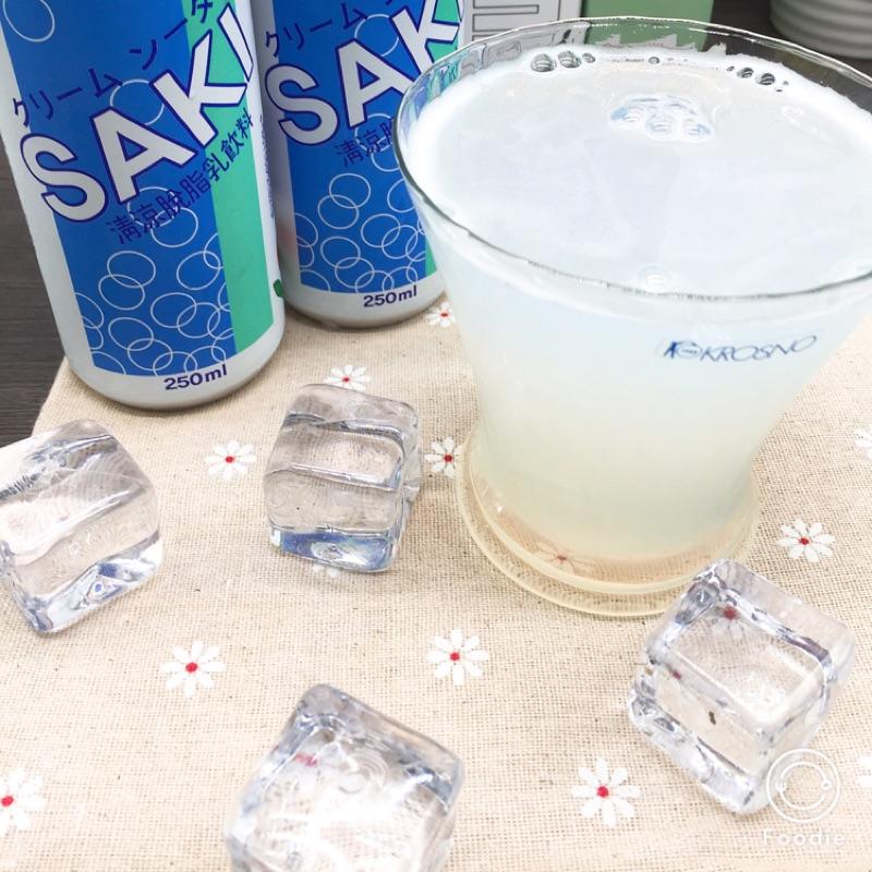 【SAKI】乳酸蘇打汽水 250ml 單罐入