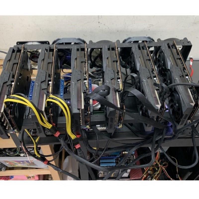 代客組裝礦機 以太幣 虛擬貨幣 算力 rtx3080 3070 5700現貨5700 1070 六卡 3060 1660