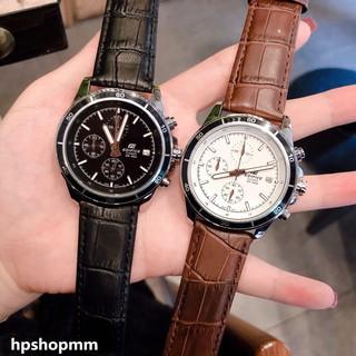 【現貨】CASIO 新款 卡西歐 高品質休閒手錶 三眼計時皮帶手錶 跑秒手錶 (送禮佳品) 台北市