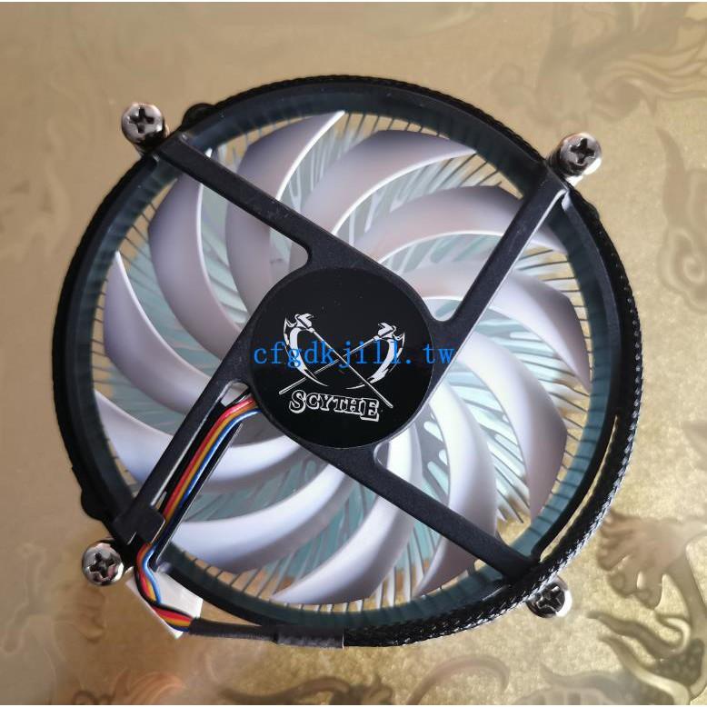 大鐮刀S950M素CPU散熱器 1151 1200臺式小主機風扇ITX下壓 薄31高