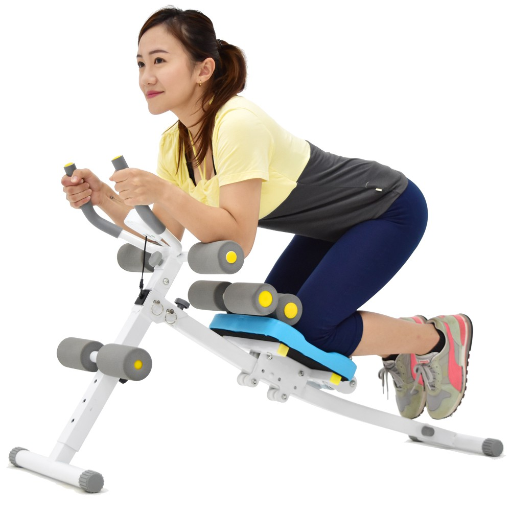 【SAN SPORTS】神合併!!提臀健腹機+挺腰機C080-605KA(多功能5五分鐘健腹器.美背機仰臥起坐板