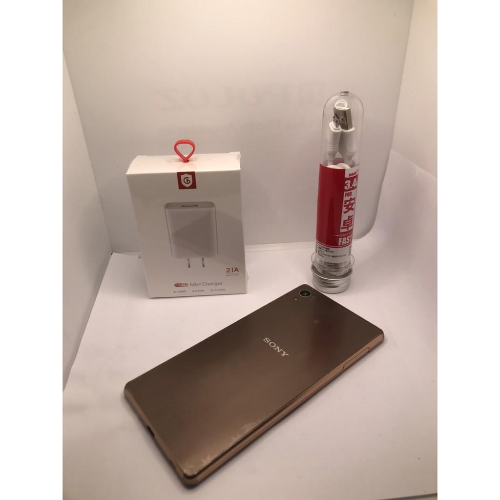 二手機 中古機 SONY Xperia Z3+(包膜)32G 5.2吋 金色 A25 16 007
